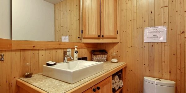 Salle de bain - Chalet Castor