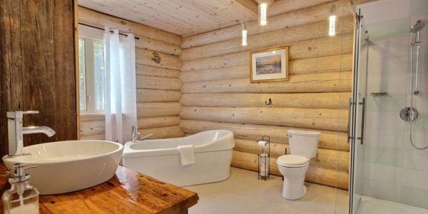 Salle de bain - Chalet Draveur