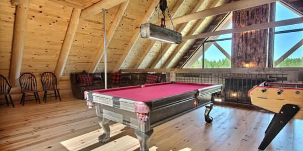 Table de billard - Chalet Légende