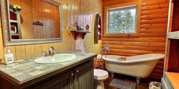 Salle de bain - Chalet Bercail