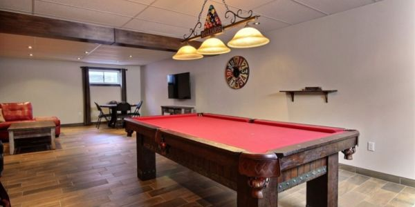Table de billard - Chalet Mustang