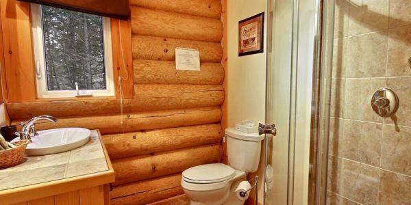 Salle de bain - Chalet Aurore Boréale