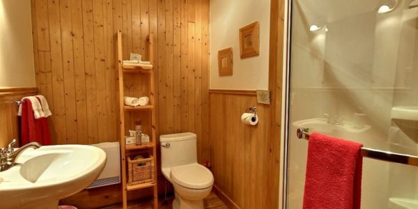 Salle de bain - Chalet Capteur de Rêves