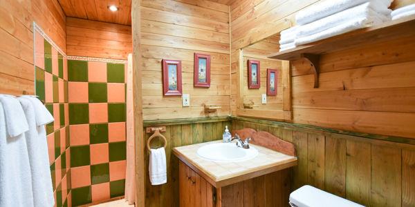 Salle de bain - Chalet Huard