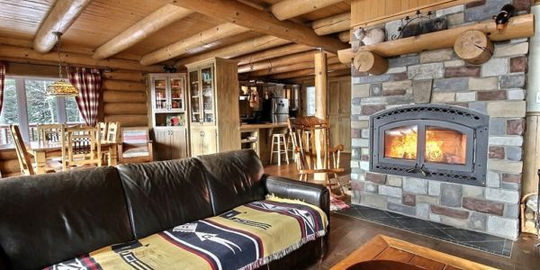 Salon - Chalet Loup Cervier