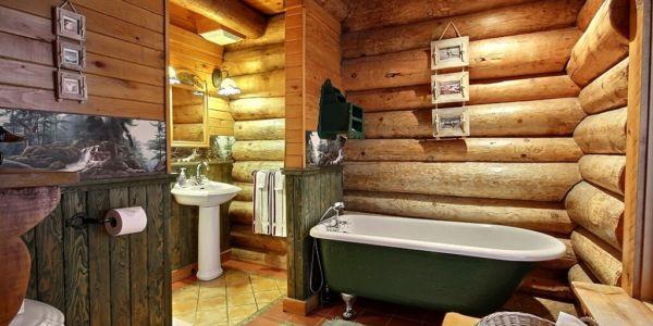 Salle de bain - Chalet Grand-Duc