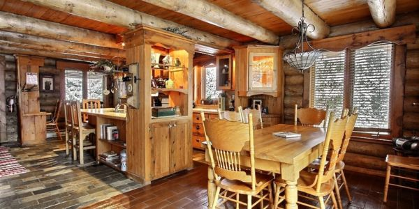 Cuisine et Salle à manger - Chalet Grand-Duc