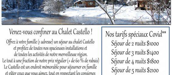 Chalet à louer Chalet Auberge Castello Et Spa
